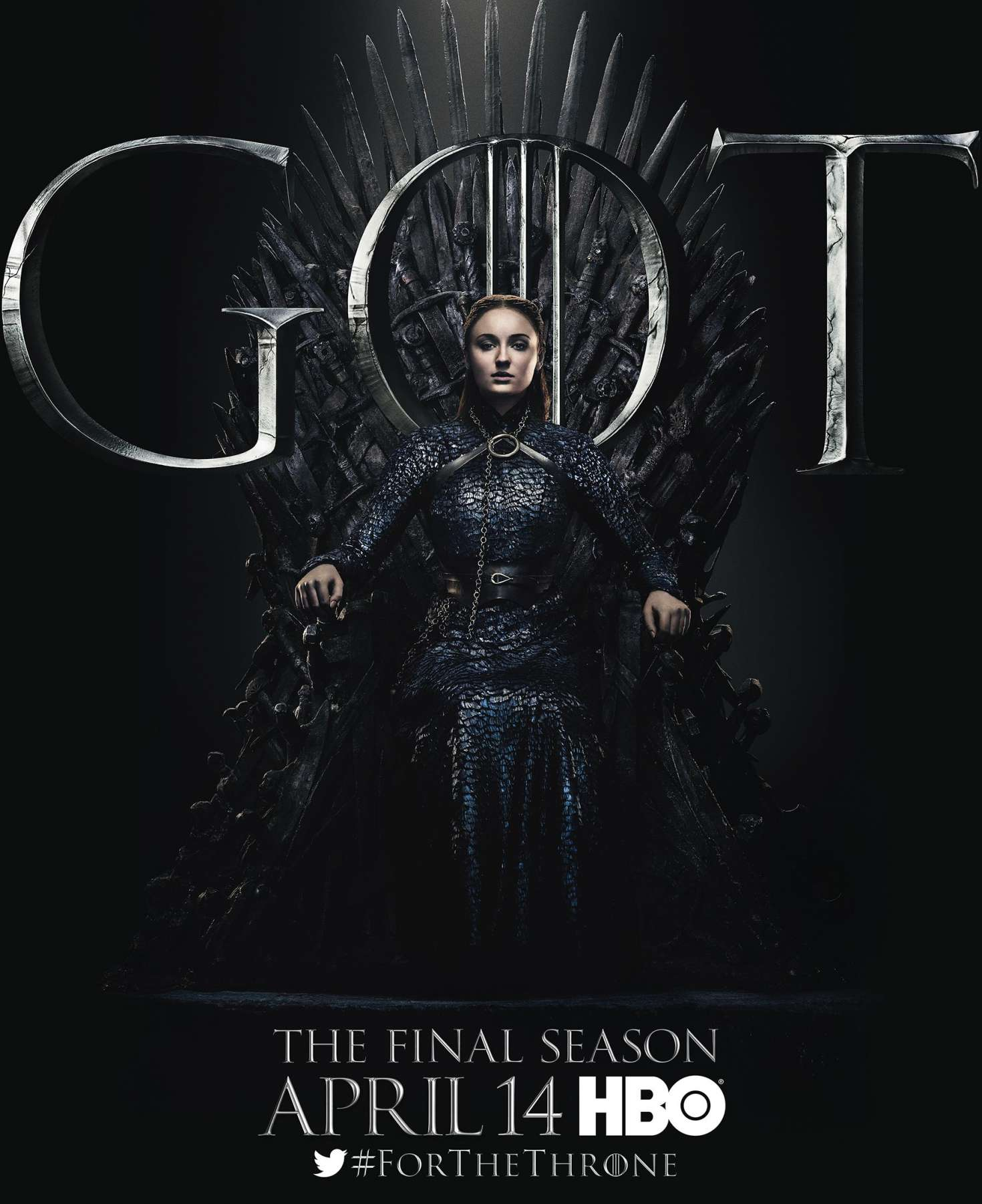 Sophie Turner - 'Game of Thrones' Season 8 Promotional Photos