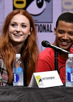 Sophie Turner - Game of Thrones TV Show Panel at 2017 San Diego Comic-Con