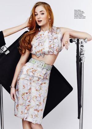 Sophie Turner - Glamour Mexico Magazine (July 2015)