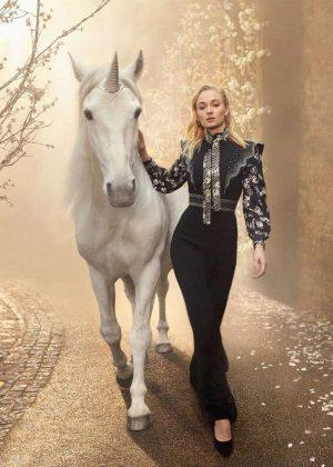 Sophie Turner - Harper's Bazaar UK Magazine (May 2019)