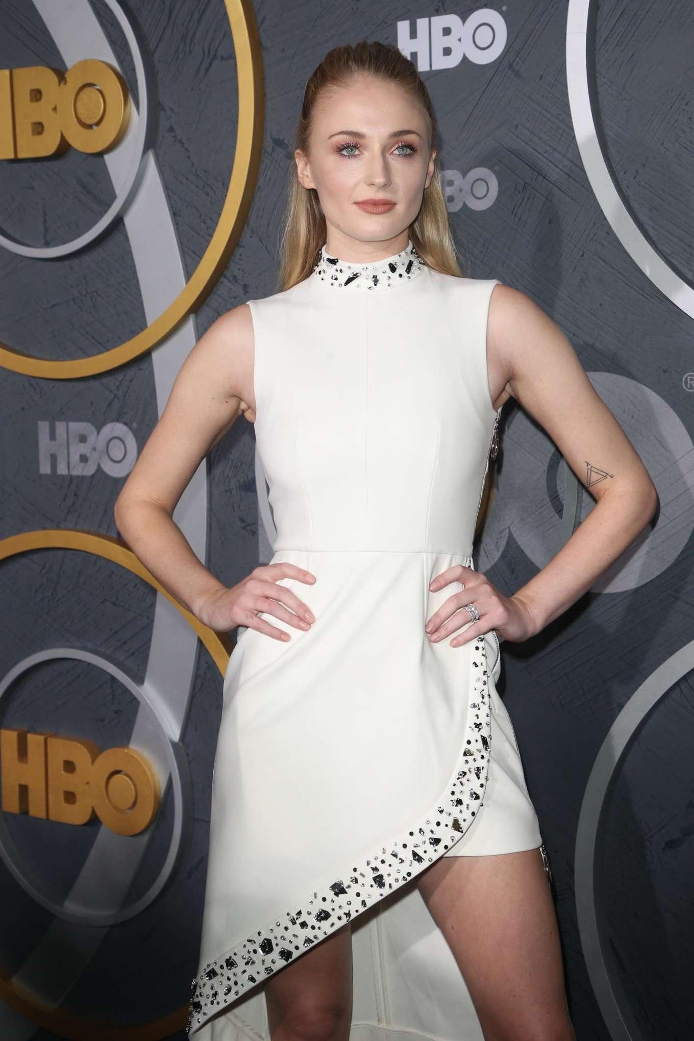 Sophie Turner 2019 : Sophie Turner – HBO Primetime Emmy Awards Afterparty-06