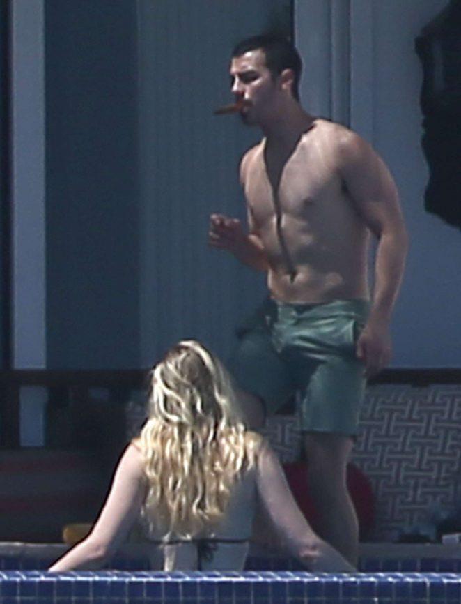 Sophie Turner in Bikini 2017 -07 - GotCeleb Vanessa Hudgens Boyfriend