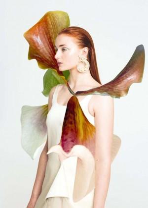 Sophie Turner - Instyle : Bafta Portfolio by Ernesto Artillo (March 2015)