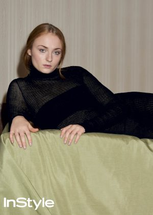 Sophie Turner - InStyle UK Magazine (July 2016) adds