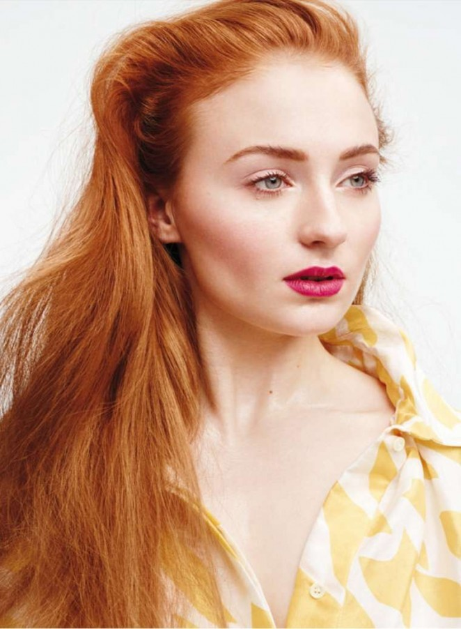 Sophie Turner - InStyle US (March 2015)