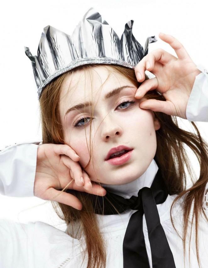 Sophie Turner – Interview Magazine 2015 -11