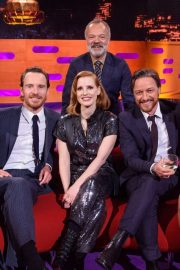 Sophie Turner, Jessica Chastain and Taylor Swift - On Graham Norton Show in London