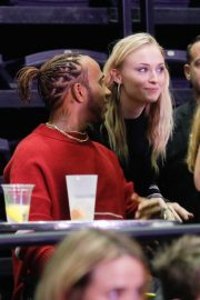 Sophie Turner - Jonas Brothers Concert at the Accor Hotels Arena in Paris
