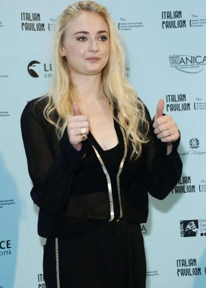 Sophie Turner - Kineo Diamanti Award Press Conference in Venice