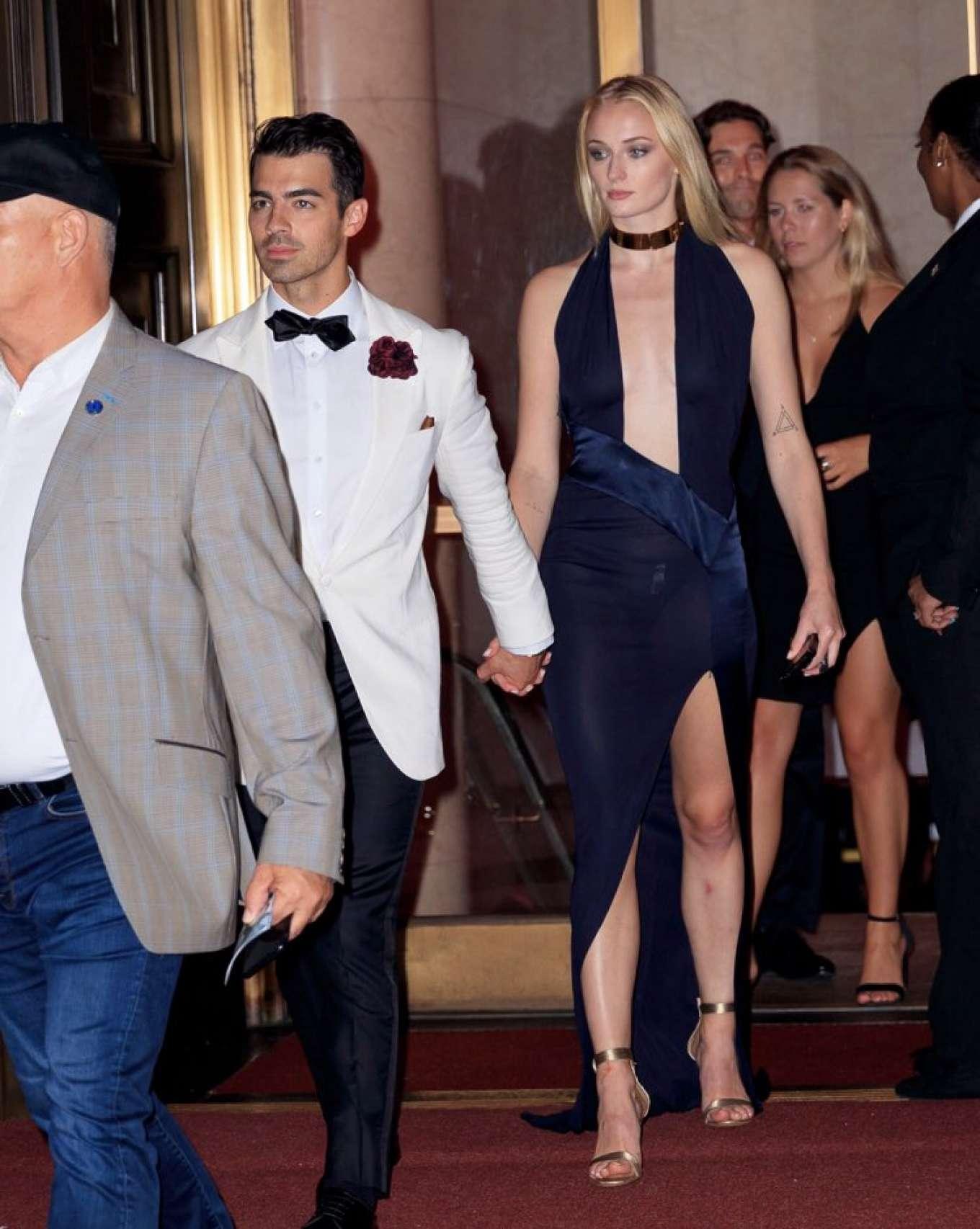 Sophie Turner 2019 : Sophie Turner – Leaving Joe Jonas Birthday Party in New York-05