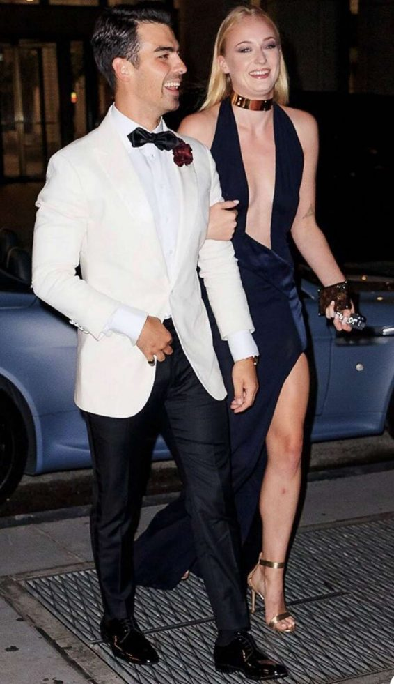 Sophie Turner - Leaving Joe Jonas Birthday Party in New York