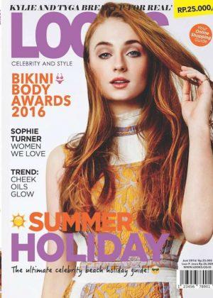 Sophie Turner - LOOKS Magazine Cover (June 2016)