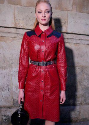 Sophie Turner - Louis Vuitton Fashion Show 2018 in Paris