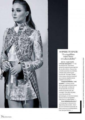 Sophie Turner - Madame Figaro Magazine (April 2018)