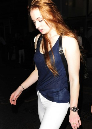 Sophie Turner - Mahiki Nightclub in London