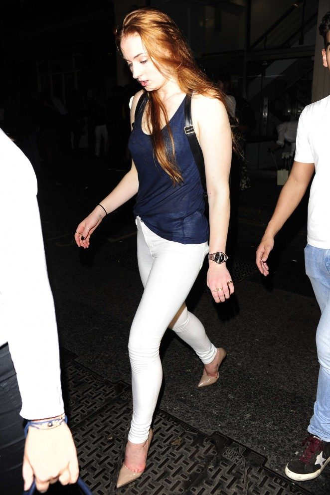 Sophie Turner: Mahiki Nightclub -04