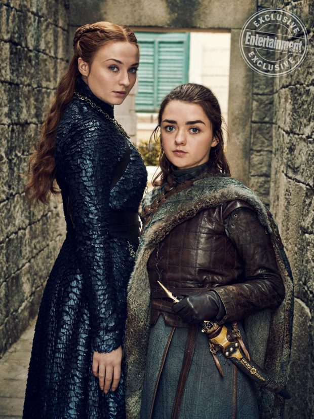 Sophie Turner, Maisie Williams and Emilia Clarke - Entertainment Weekly (May 2019)