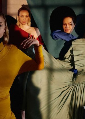 Sophie Turner, Maisie Williams, Lena Headey and Gwendoline Christie - Vogue UK (April 2019)