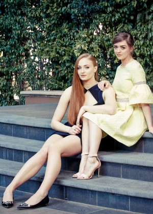Sophie Turner & Maisie Williams - The New York Times Photoshoot (March 2015)