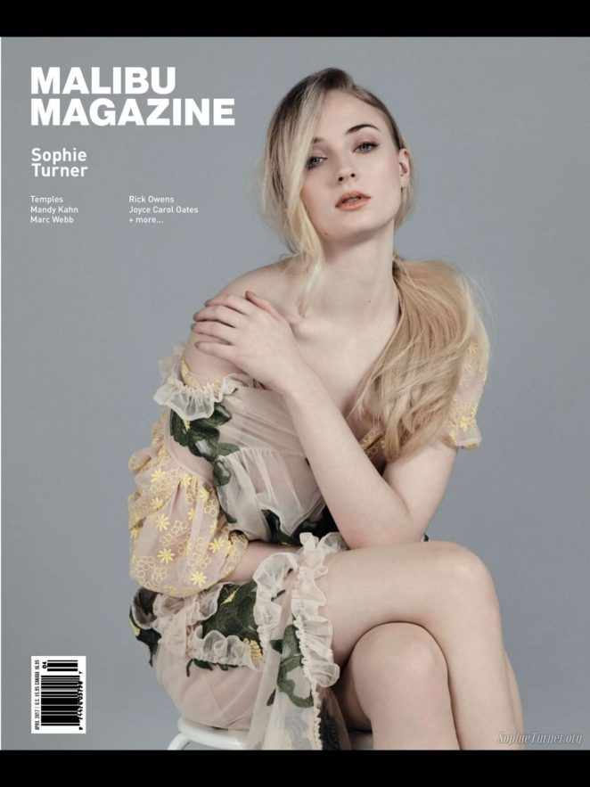 Sophie Turner – Malibu Magazine (April 2017)