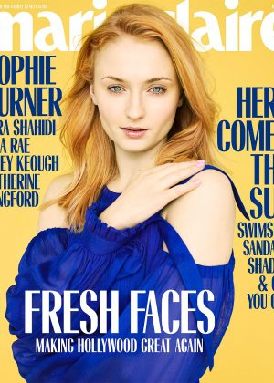 Sophie Turner - Marie Claire US Magazine (May 2018)