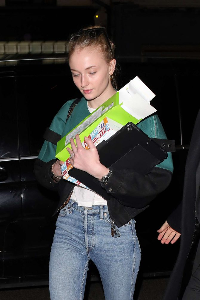 Sophie Turner – Night out in Mayfair