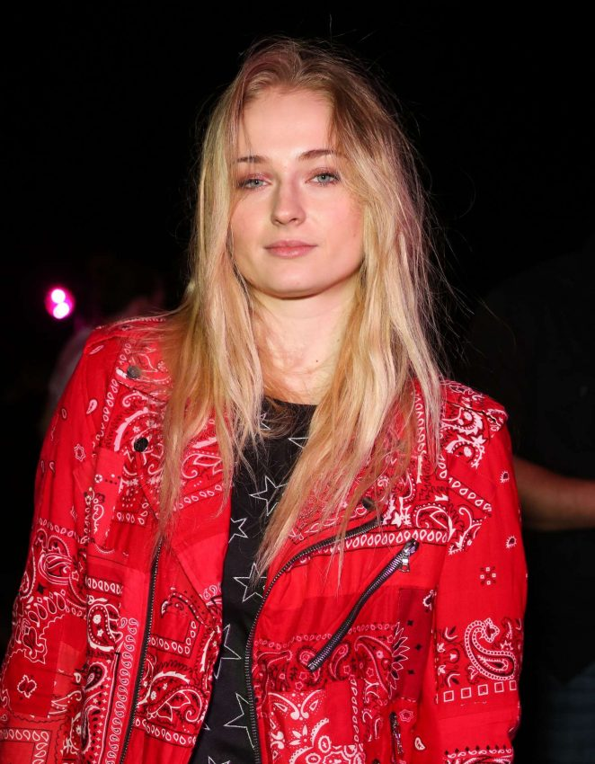 Sophie Turner - Nylon Midnight Garden Party at 2017 Coachella in Indio