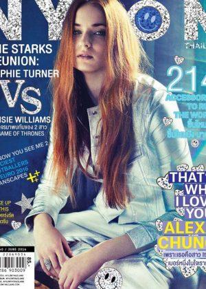 Sophie Turner - Nylon Thailand Cover (June 2016)