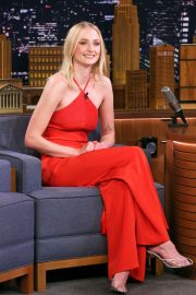 Sophie Turner - On 'The Tonight Show Starring Jimmy Fallon' in NYC