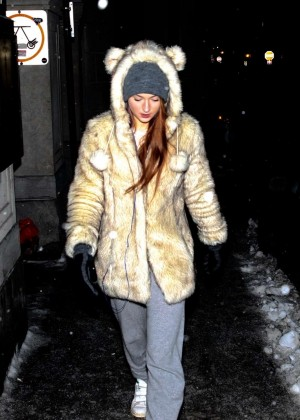 Sophie Turner - Out and about in Montreal