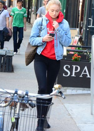 Sophie Turner - Out and about in NYC