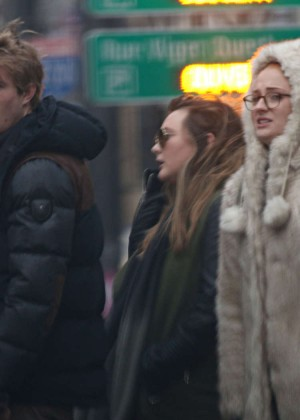 Sophie Turner - Out in Montreal
