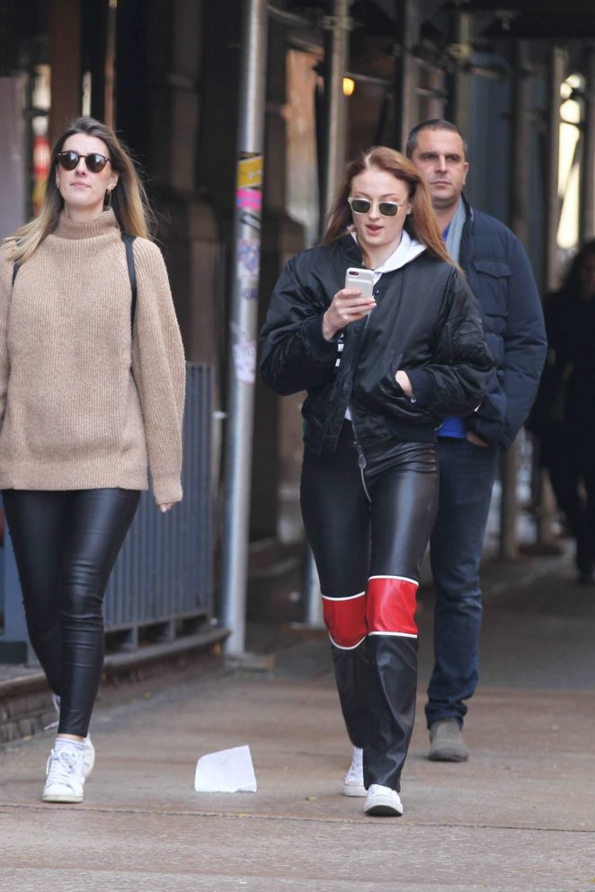 Sophie Turner - Out shopping in Soho