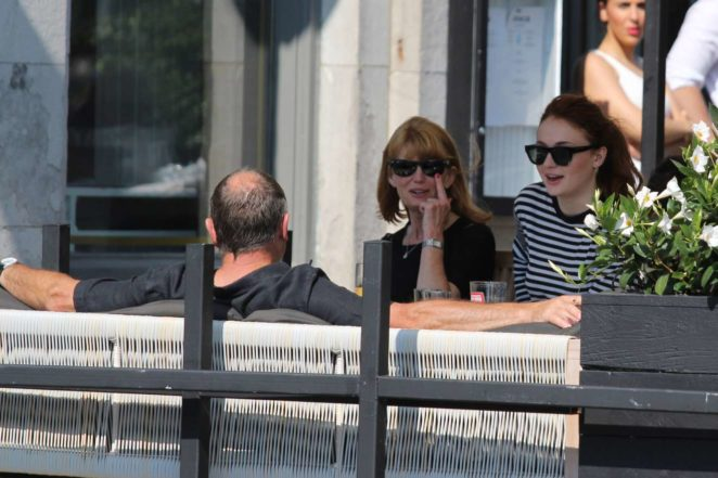 Sophie Turner: Out with her parents in Montreal-05