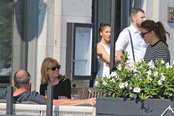 Sophie Turner: Out with her parents in Montreal-07