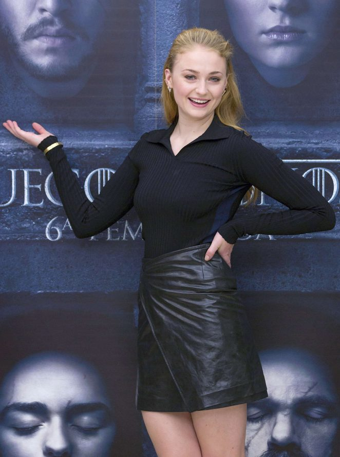 Sophie Turner - Photocall for 'Game of Thrones' in Madrid