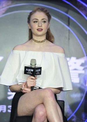 Sophie Turner - Press conference 'X-Men: Apocalypse' in Beijing