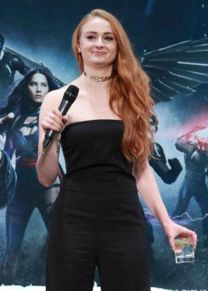 Sophie Turner - Promoting 'X-Men: Apocalypse' at Tsinghua campus in Beijing