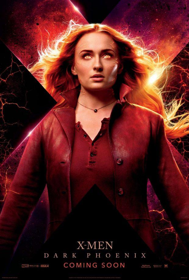 Sophie Turner - Promotional Posters for 'Dark Phoenix' 2019
