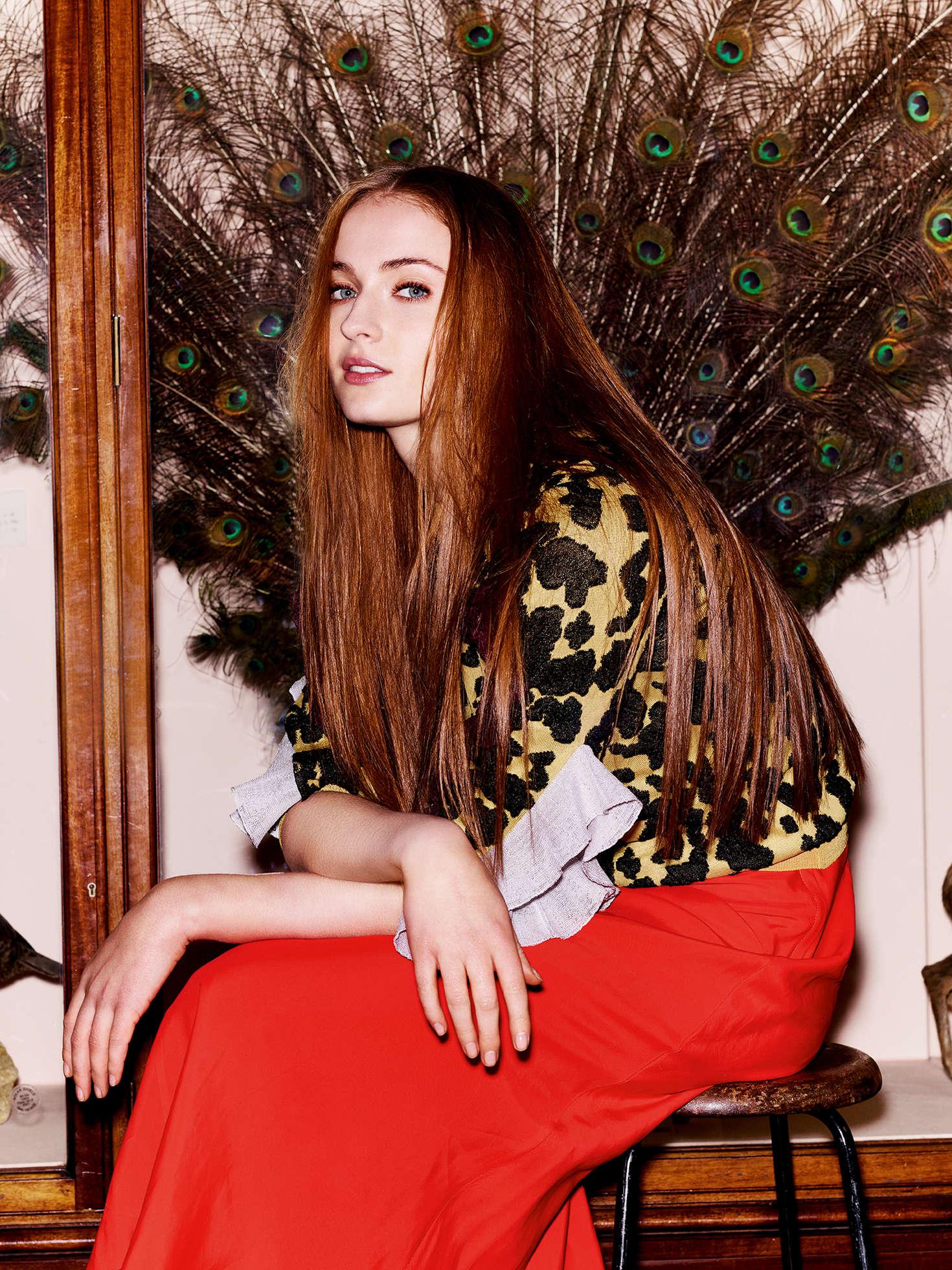 Sophie Turner Sunday Times Style   Gotceleb