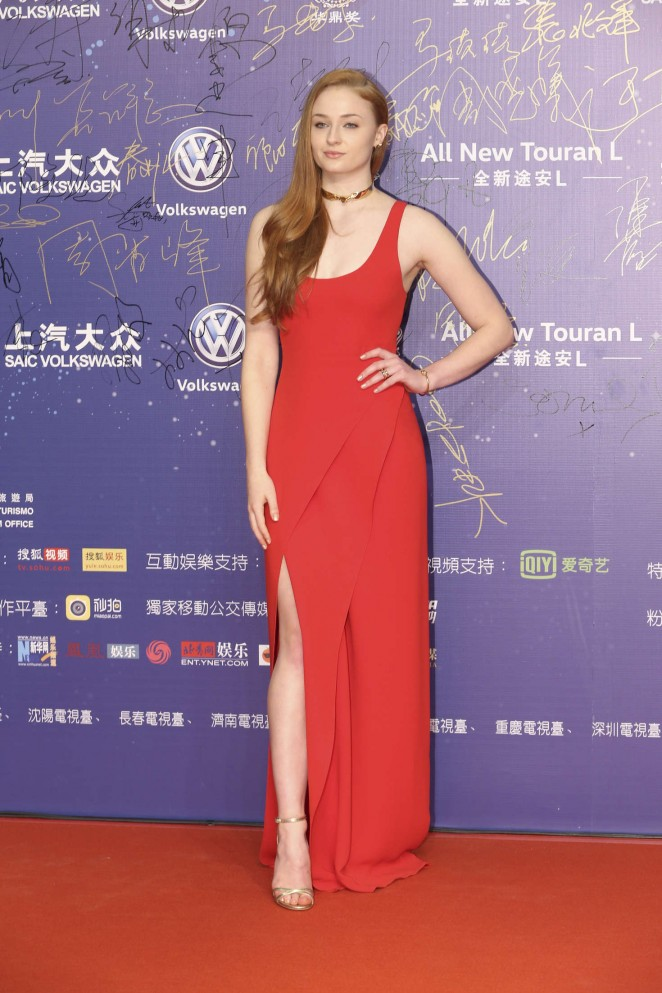 Sophie Turner: The 18th Huading Awards -05