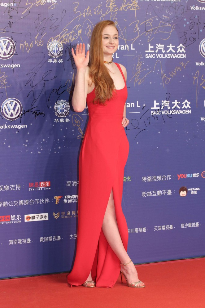 Sophie Turner: The 18th Huading Awards -07