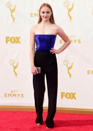 Sophie Turner - 2015 Emmy Awards in LA