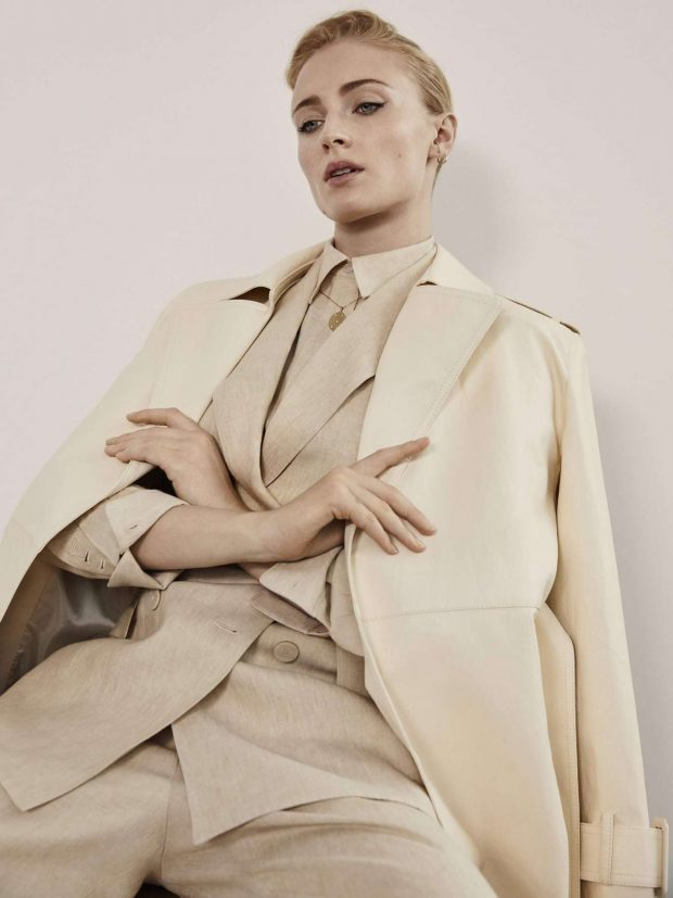 Sophie Turner - The Edit by Net-A-Porter (May 2019)