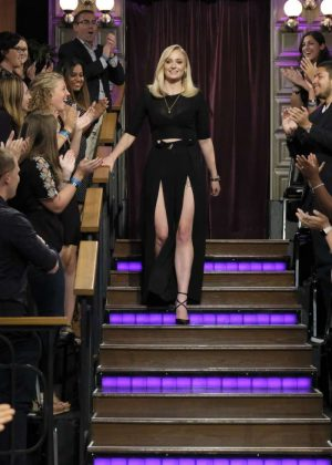 Sophie Turner - 'The Late Late Show with James Corden' in LA