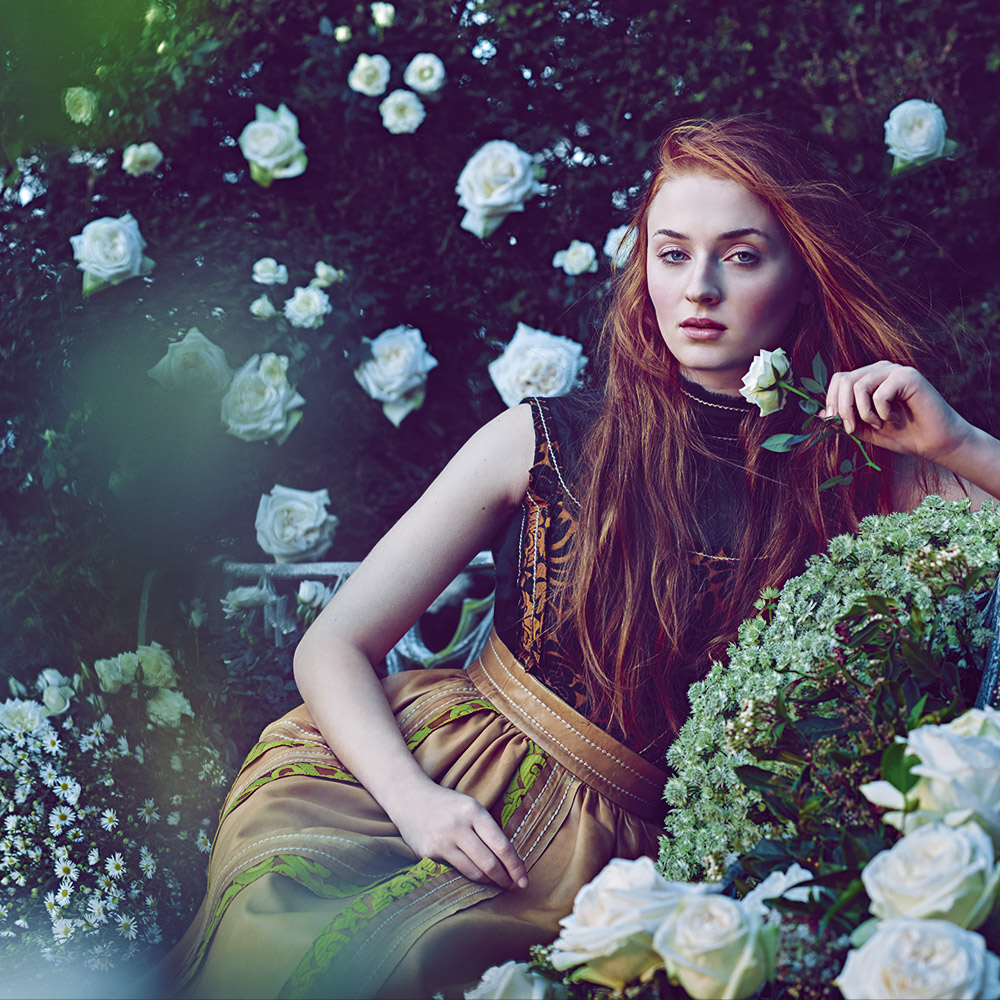 Sophie Turner - Town & Country Magazine (Spring 2015)