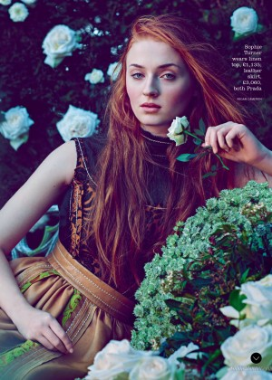 Sophie Turner - Town & Country UK Magazine (Spring 2015)