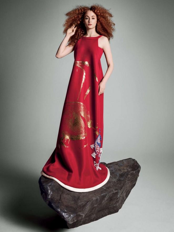 Sophie Turner – Vogue US Magazine (March 2016)