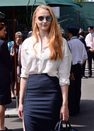 Sophie Turner - Wimbledon Tennis Championships 2016 in London