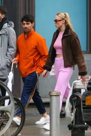 Sophie Turner with Joe Jonas out in NYC